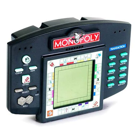 Electronic Monopoly Game - Monopoly Handheld Game