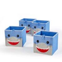 Heritage Club Toy Storage Cube, Shark (Set of 4)