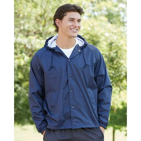 Augusta Sportswear Hooded Coach's Jacket 3102 (Maroon Coat)