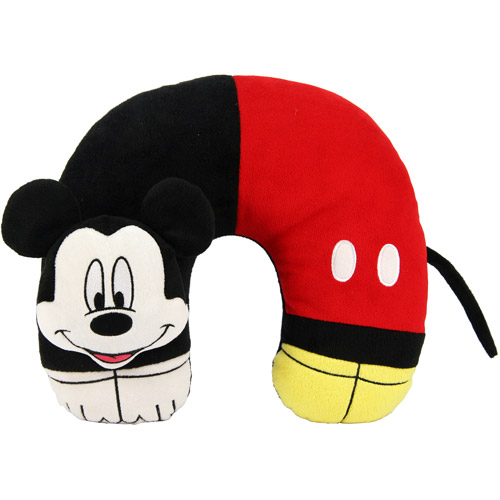 Disney Mickey Mouse 3D Character Neck Pillow
