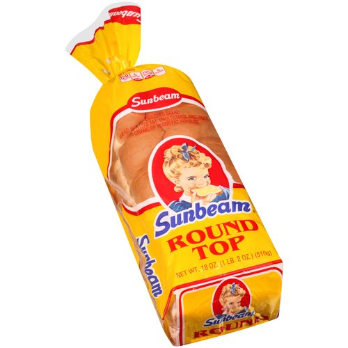 Sunbeam® Round Top Bread 18 oz. Bag
