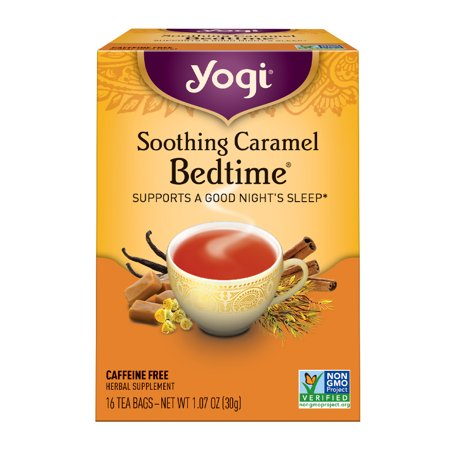 Caramel French Tea - (3 Boxes) Yogi Tea, Soothing Caramel Bedtime Tea, Tea Bags, 16 Ct, 1.07 OZ