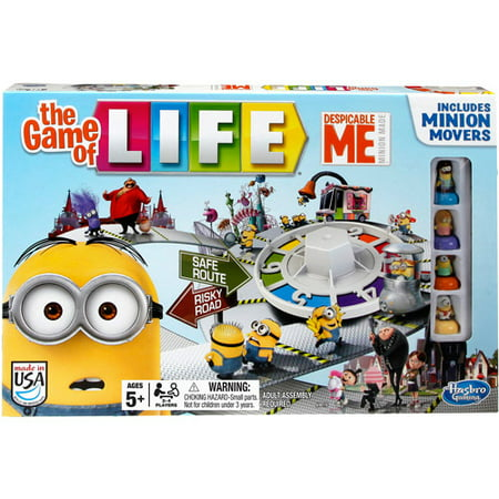 Despicable Me Minion The Game of Life Game - Minion Rush Halloween Game