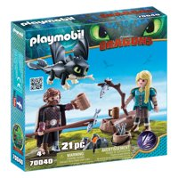 PLAYMOBIL How to Train Your Dragon III Hiccup and Astrid with Baby Dragon