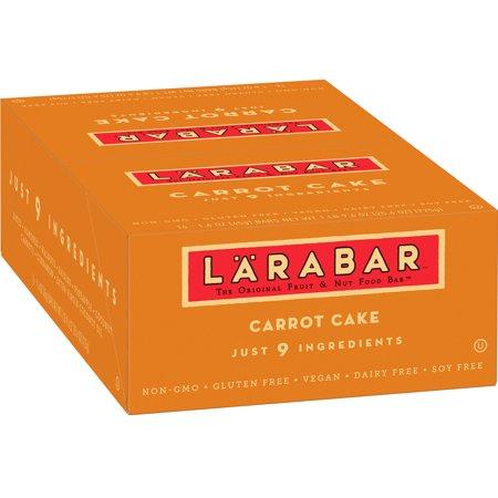 Larabar Gluten Free Bar  Carrot Cake  1 6 Oz Bars  16 Count