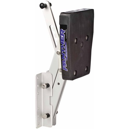 "Panther 2 Stroke Outboard Motor Bracket Max 12 HP, 14"" Lift, Aluminum"