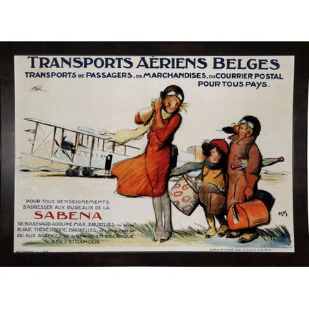 Winston Porter 'Belgian Transport' Vintage Advertisement