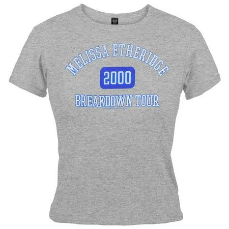 Melissa Etheridge - Athletic Juniors Babydoll T-Shirt - image 1 de 1