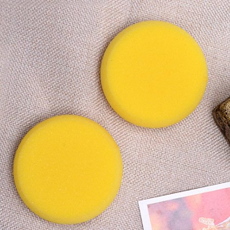 Round Painting Yellow Sponge Artist Brushes Watercolor Sponges for Painting Crafts Pottery - Halloween Pottery Painting Ideas