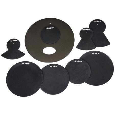 Vic Firth prepack w/ 10, 12, 14(2), 20, hi-hat and cymbal (2) Drum Riser System Package