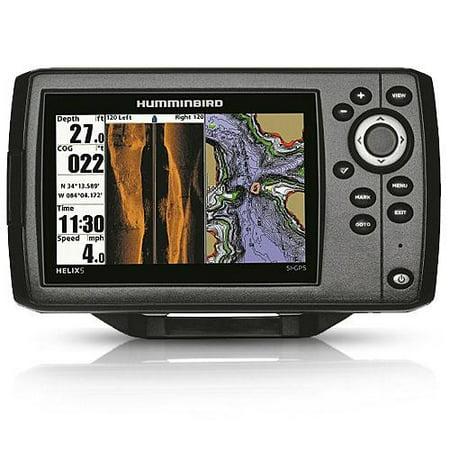 Humminbird Helix 5 Sonar/GPS Color Fishing System w/ Navionics+ & 5 Inch Color TFT Display