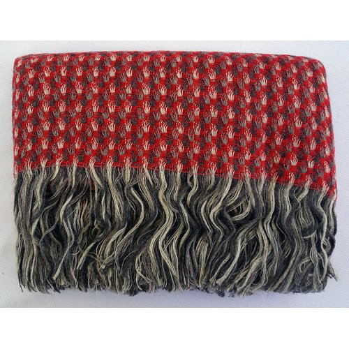 Gracie Oaks Seaway Beautiful Wool Throw