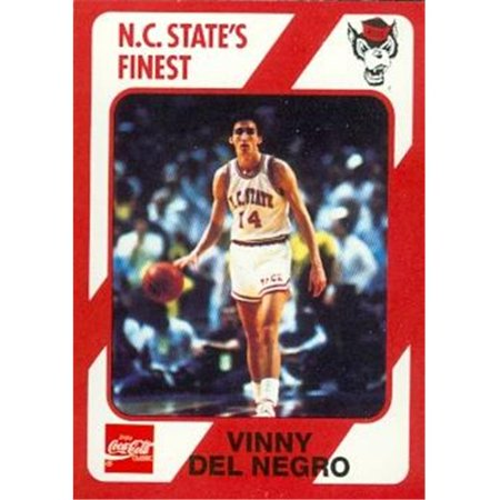 Vinny Del Negro Basketball Card (N.C. North Carolina State) 1989 Collegiate Collection -