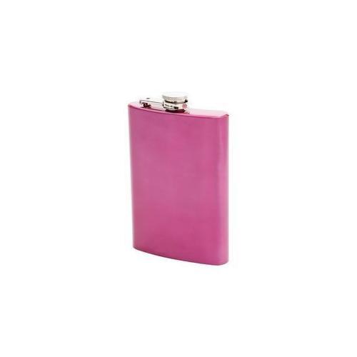Maxam® 8oz Stainless Steel Flask - Pink