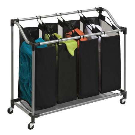 Laundry Sorter, 4-Compartment