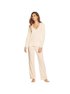 Maidenform Lace Trim PJ Set - MFW7850