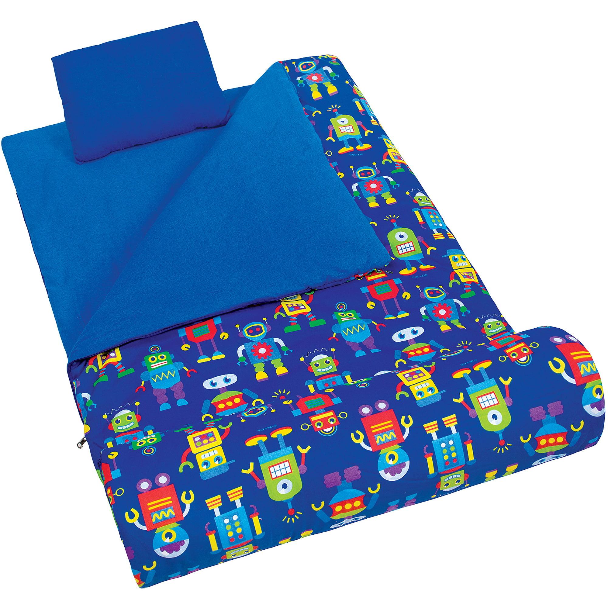 Olive Kids' Robots Sleeping Bag