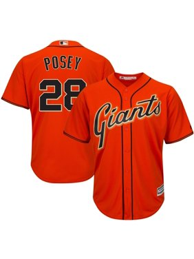 Buster Posey San Francisco Giants Majestic Cool Base Player Jersey - Orange