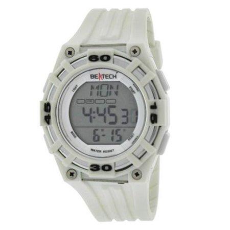 Beatech White Alarm Clock Stopwatch Countdown Timer