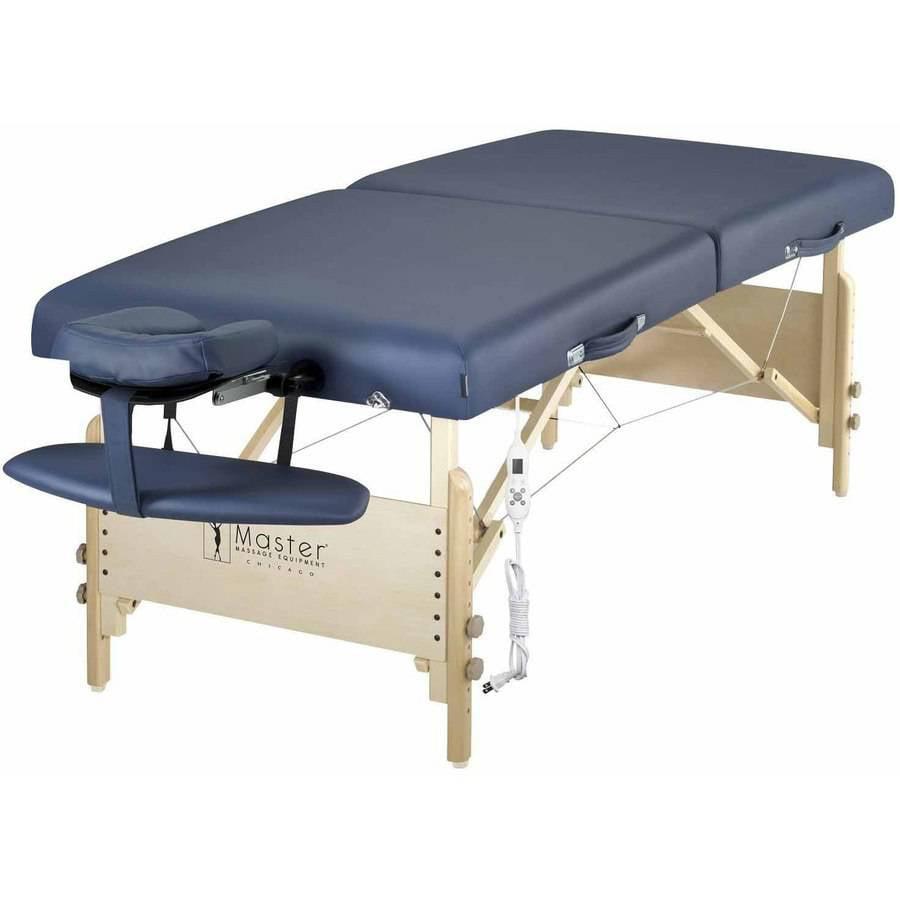 "Master Massage 30"" Coronado ThermaTop Portable Massage Table Heating Warmer Pad Built in"