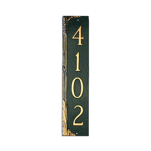 Montague Metal Products Inc. Wheat Column Address Plaque
