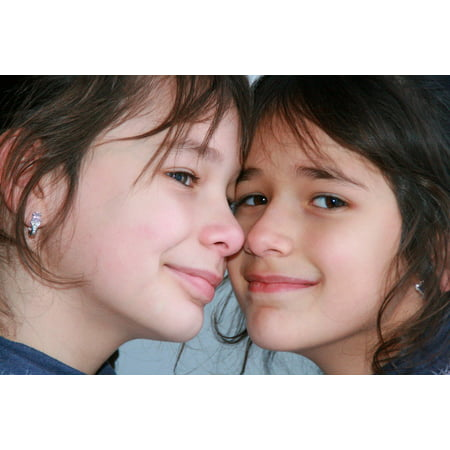 LAMINATED POSTER Innocence Smile Beauty Sisters Love Portrait Poster Print 24 x 36