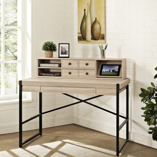 Turnkey Products LLC Hancock Computer Desk with Hutch