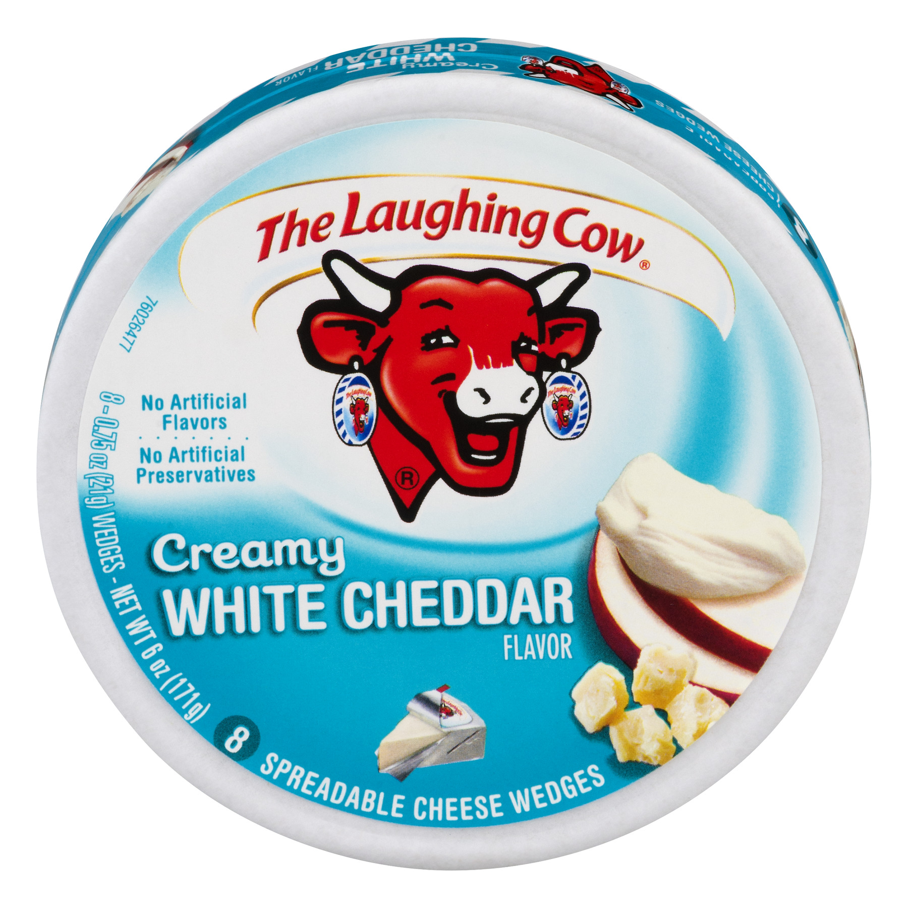 The Laughing Cow Creamy Asiago Cheese Spread, 6 oz