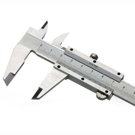 6in/150mm Stainless Steel Vernier Calipers/Electronic Digital Vernier Calipers Dual Reading Scale Accurate Measuring