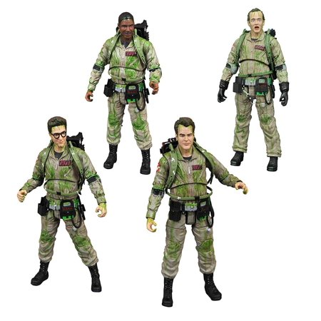 Ghostbusters 1984 Exclusive Slimed Action Figure 4 Pack (Ghostbuster Action Figures)