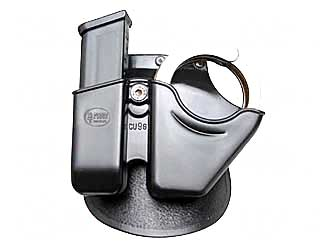 Fobus Magazine Cuff Combo Paddle Glock, H&K 9mm & 40 S&W M&P 9mm 40cal. by Fobus