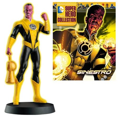 DC Superhero Sinestro Best of Figure with Magazine #23 (Number of Pieces per Case: