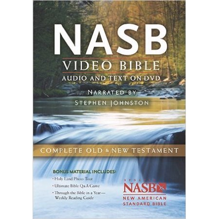 NASB Video Bible: Audio and Text On DVD (Value Price)