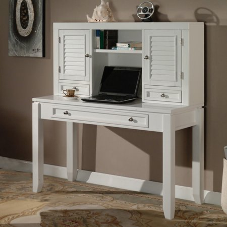Parker House Boca Desk with Hutch - Cottage White ()