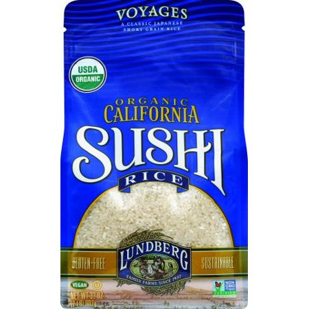 Lundberg Family Farms® Voyages Organic California Sushi Rice 32 oz. Stand-Up Bag