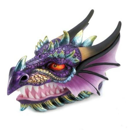 Treasure Gift Box (Gifts and Decor Ferocious Mythical Dragon Head Treasure Trinket Box )