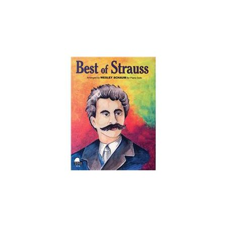 SCHAUM Best Of Strauss Educational Piano Series Softcover
