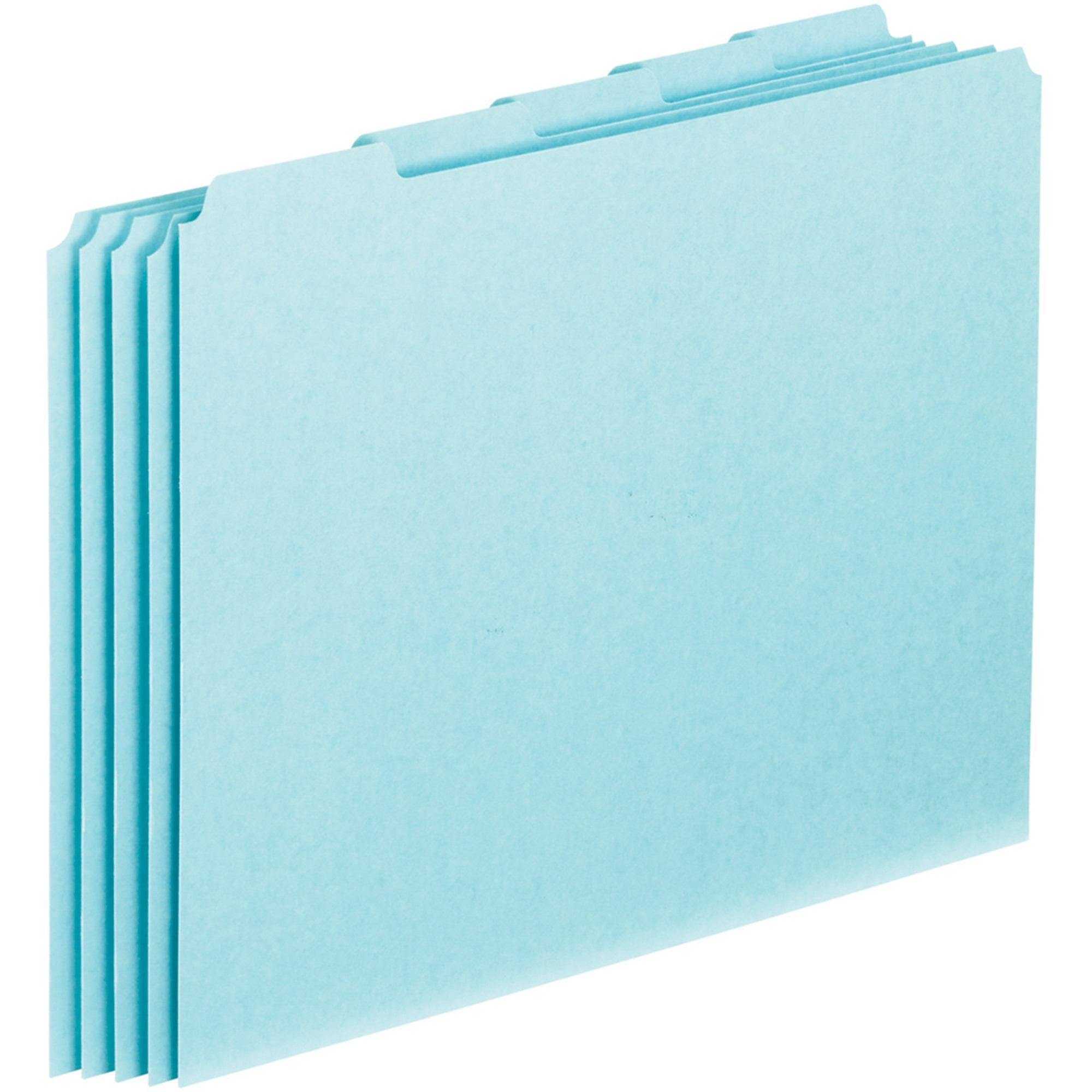 Pendaflex, PFXPN205, 1 5-cut Blank Tab Pressboard File Guides, 100   Box by TOPS Products