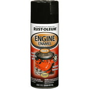 Rust-Oleum 248932 Automotive 12-Ounce 500 Degree Engine Enamel Spray Paint, Gloss Black