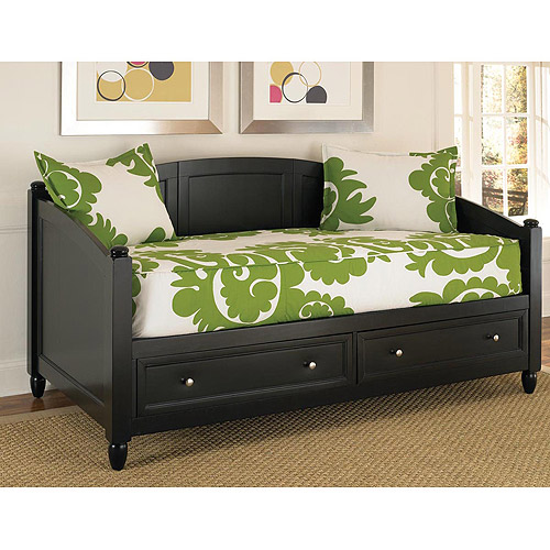 Home Styles Bedford Storage Day Bed, Black by Generic