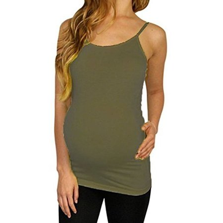 65175a0743021 Maternity Camisole Tank Top Cami Basic Seamless Nursing Tank Top Shirt