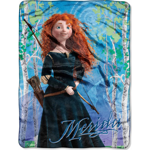 "Disney Brave Deep Woods 46"" x 60"" Micro Raschel Throw"