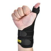 EECOO Medical Thumb Spica Splint Brace Hand Wrist Support Stabiliser Sprain Arthritis