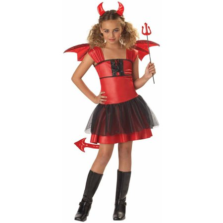 Devil Darling Girls' Child Halloween Costume - Halloween Devil Costume Diy
