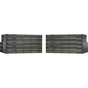 Cisco Catalyst 2960X-24TS-L 24-Port Ethernet Switch w  4 SFP Ports by Cisco