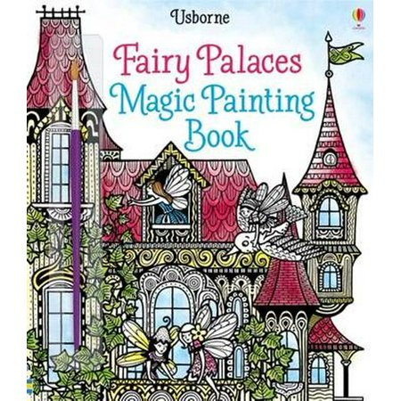 FAIRY PALACES MAGIC PAINTING BOOK - Painting Fails