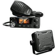 Uniden PRO505XL 40-Channel Bearcat Compact CB Radio & BC15 Accessory CB/Scanner Speaker