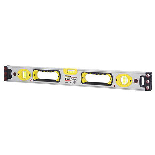 "Stanley Fatmax Box Beam Level Magnetic, 24"", 43-525"