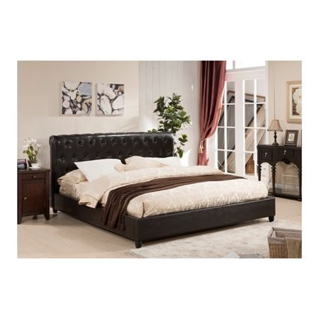 Inroom designs upholstered platform bed In room designs