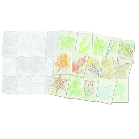 Brand New  Leaf Rubbing Plates, - Leaf Rubbings